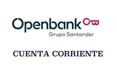 Cuenta Corriente Openbank Sin comisiones