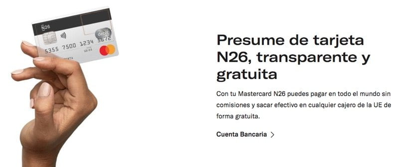 N26 Tarjeta