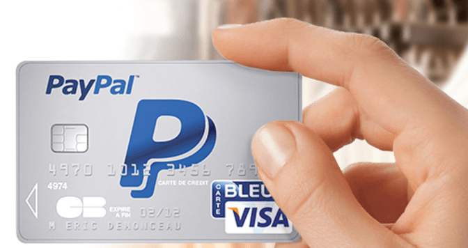 Conseguir tarjeta Paypal