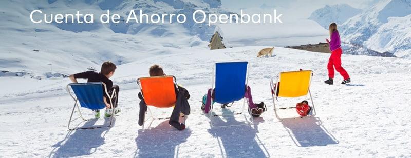 descripcion cuenta ahorro openbank